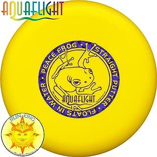 AquaFlight PEACE FROG Disc Golf Putter/Approach (Floats in Water!)