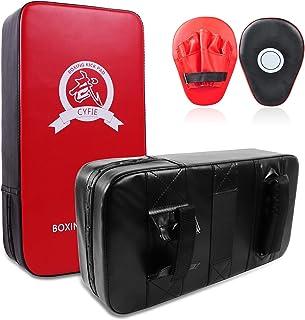 Cyfie Boxing Kick Pads Target Kick Pad Hand Pads Thai Pads Karate Kick Pads Kickboxing Training Pads Martial Arts MMA Punc...