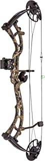Bear Archery Salute Ready to Hunt Compound Bow Includes Trophy Ridge Sight, Whisker Biscuit, Peep Sight, and S-Loop