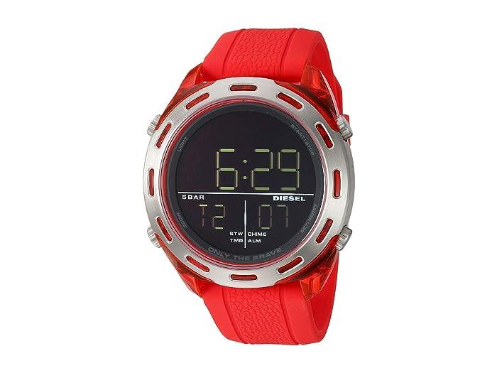 Diesel  Crusher - DZ1900 (Red) Watches