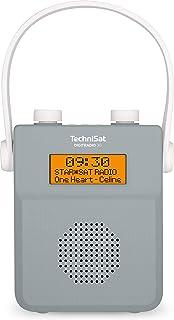 TechniSat DigitRadio 30 – vattentät DAB duschradio (FM, DAB digital radio, integrerat batteri, Bluetooth, vattentät enligt...