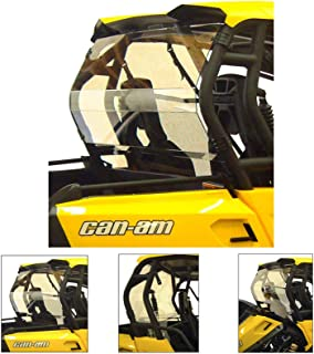can am commander rear window