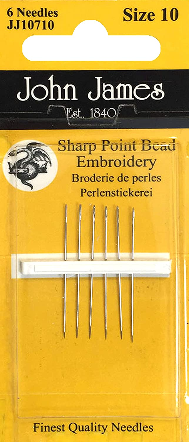 Colonial Needle JJ10710 John James Max 87% OFF Needles-Size Bargain sale Embroidery Hand