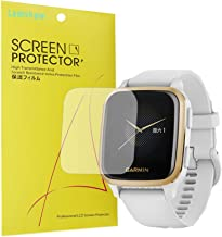 Compatible with Garmin Venu Sq Screen Protector, YOUkei Full Coverage PET Clear Film Compatible with Garmin Venu Sq Smartw...