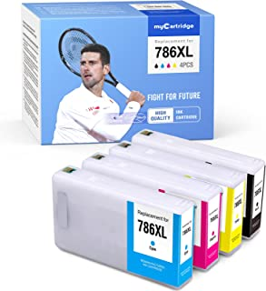 MYCARTRIDGE Remanufactured Ink Cartridge Replacement for Epson 786 XL 786XL Work for Workforce Pro WF-5620 WF-5190 WF-5690...