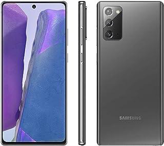 "Smartphone Samsung Galaxy Note 20 5G, 256GB - Tela 6.7"", Octa-Core, Câmera Tripla 64MP - Mystic Gray"