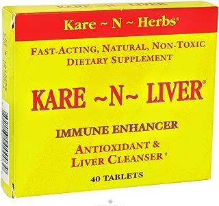 Kare N Herbs - Kare-N-Liver Immune Enhancer, 40 tablets