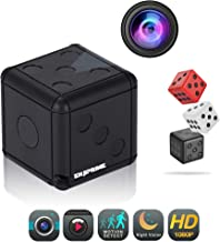 Mini Wireless Action Dice Camera - Full HD Cameras with Motion Detection & Night Vision, Monitoring and Cam Recorder for Home & Office, Nanny Cam, Camaras para Casas