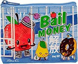 Blue Q Coin Purse Bail Money