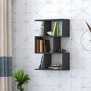 Klaxon Omega Book Shelf and Storage Unit   Display Unit (Brown)