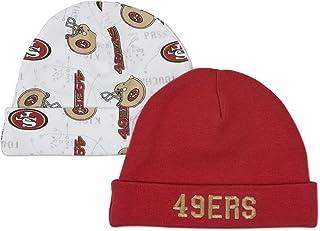 NFL San Francisco 49ers Infant Cap Set, Pack of 2