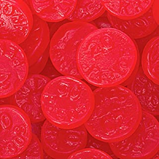 Red Cherry JuJu Coins Candy 5LB Bag