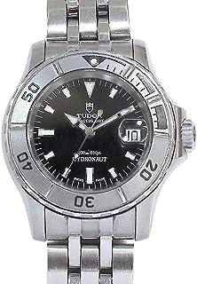 チュードル TUDOR プリンスデイト ハイドロノート 99090 レディース 腕時計 ブラック オートマ 自動巻き ウォッチ 【中古】 90059306 [並行輸入品]