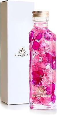 [フラワリウム] フラワーギフト 花 贈り物 誕生日プレゼント 女性 ホワイトデー 贈り物 母の日 ハーバリウム ハートボトル ピンクパープル