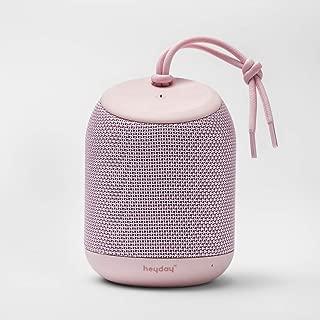 Bluetooth Portable Speaker Waterproof in Light Pink by heyday