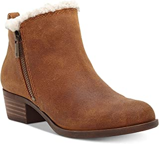 Womens Baselsher Leather Ankle Booties