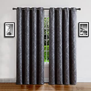 Warm Home Designs 1 Panel of Extra Long Charcoal 54