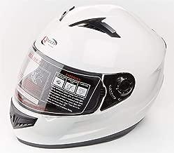 59-60 cm Casco Aperto per Motocicletta Scooter Nero//Bianco//Rosso Trials L Qtech Nero