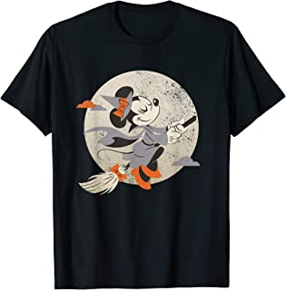Minnie Mouse Flying Witch Costume Halloween T-Shirt