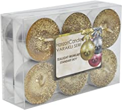 Horizon Candles Shiny Tealights Unscented Candle 12 pieces