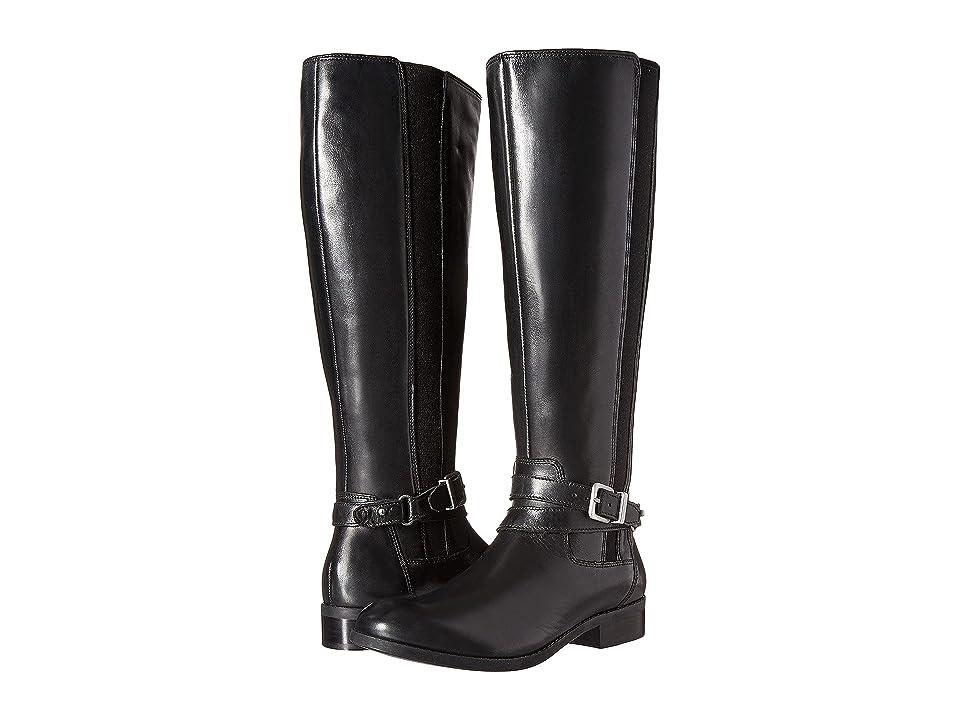 Clarks Pita Vienna (Black Leather) Women