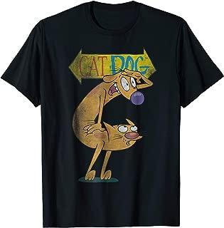 Nickelodeon CatDog Character Logo T-Shirt
