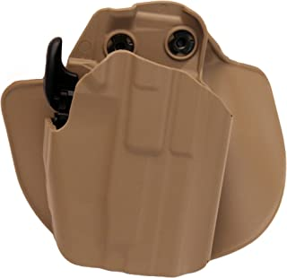 Safariland 578 Pro-Fit GLS (Grip Lock System) Paddle and Belt Loop Sub-Compact Holster Glock 26,27, 30, Springfield XDS 3.3, S&W M&P Compact Polymer