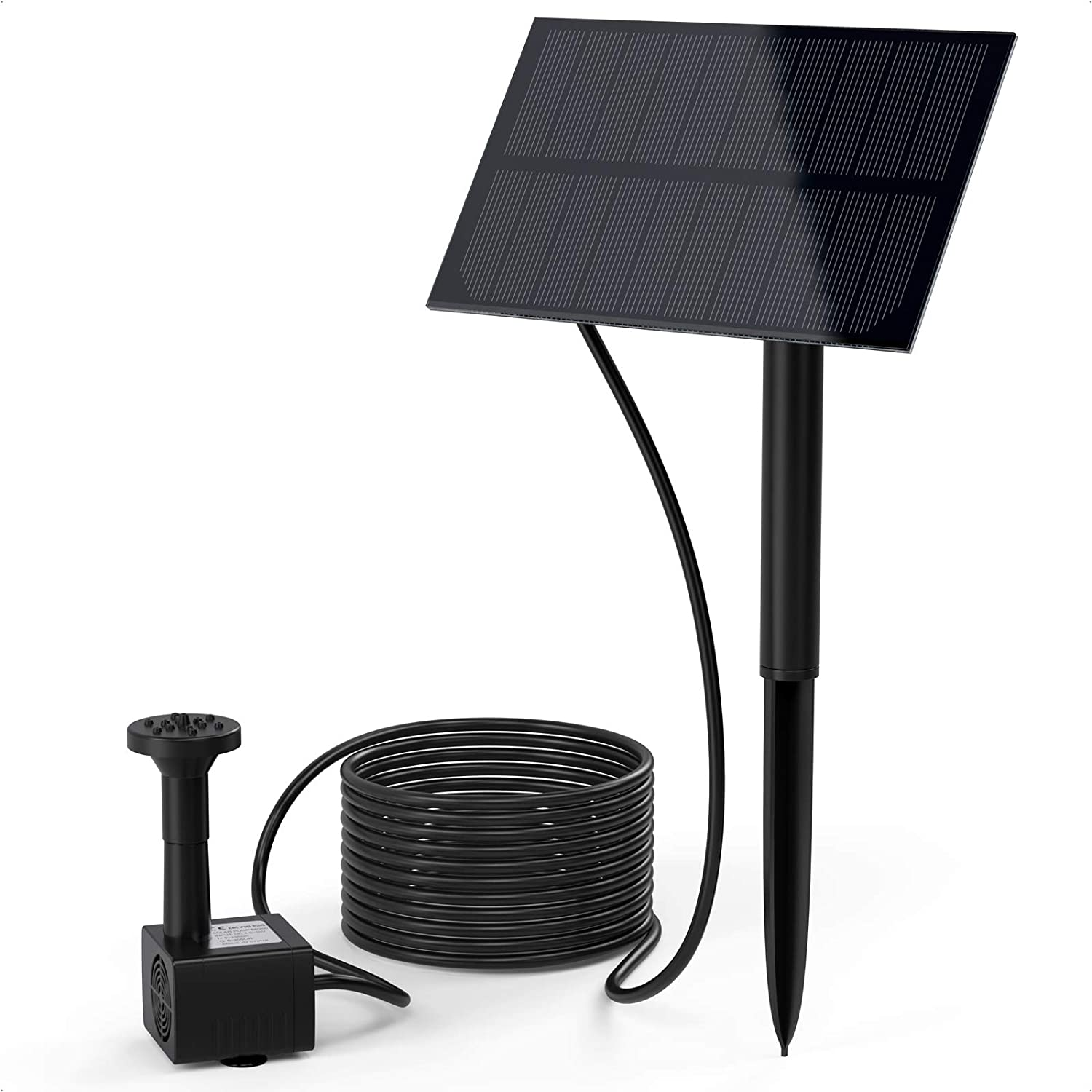 Ankway Solar Fountain Pump Outdoor for Kit Water Max 74% Large special price !! OFF