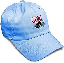 Custom Soft Baseball Cap Goal Hockey Embroidery Dad Hats for Men & Women