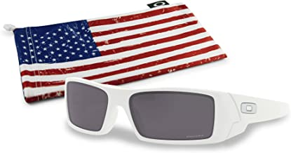 Oakley Gascan Sunglasses with Country Flag Microbag