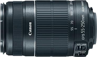 Canon EF-S 55-250mm f/4.0-5.6 IS II Telephoto Zoom Lens (Renewed)