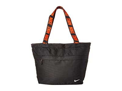 Nike Advanced Small Tote (Black/Black/White) Tote Handbags