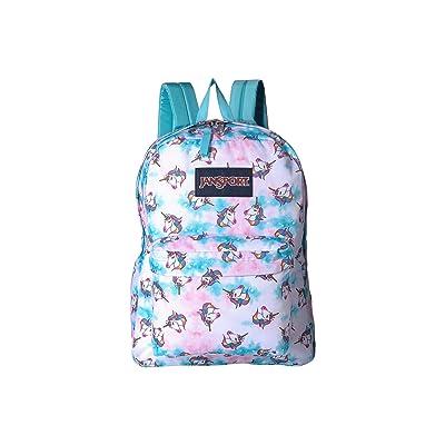 JanSport SuperBreak(r) (Unicorn Clouds) Backpack Bags
