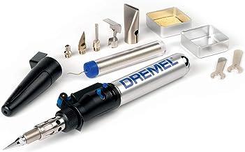 Dremel Versatip 2000 - Pirograbador a gas butano con 6 puntas para soldadura, pirografo, fusión, corte en caliente, compresión (duración de encendido máximo 90 min)