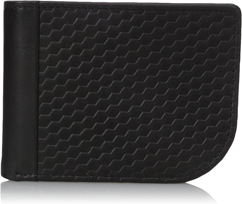 Buxton Men's Bellamy RFID Blocking Leather Slim C-Fold Wallet