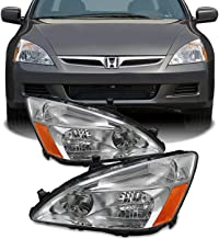 For 2003-2007 Honda Accord Coupe/Sedan Model OE Replacement Headlights Driver/Passenger Head Lamps