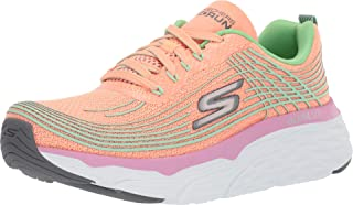 Skechers Max Cushion - 17693 Orange/Lime 8.5
