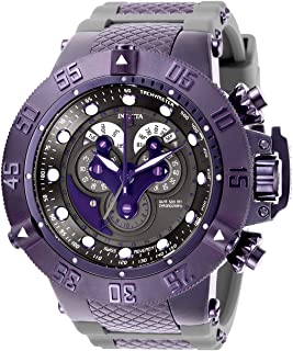 Invicta Men s Subaqua Stainless Steel Quartz Watch with Silicone Strap 4b690f13357