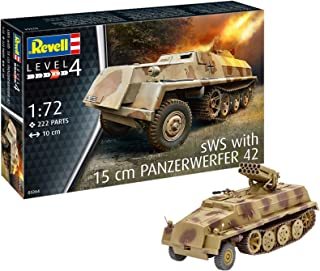 Revell 03264, SWS with 15 cm Panzerwerfer 42, 1:72 Scale Plastic Model