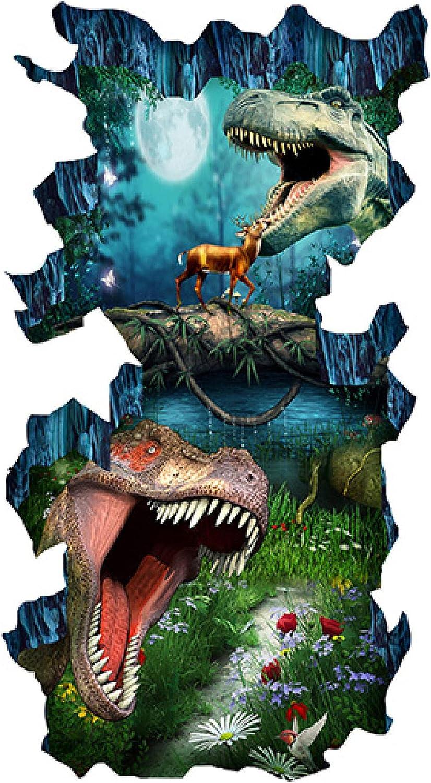Custom outlet 3D Stereo Outdoor Floor Dinosaur Painting Photo Mura Over item handling ☆ Wall