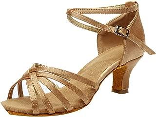 Women's Fashion Luxury High Heels Rumba Waltz Prom Ballroom Latin Salsa Dance Shoes Ladies Sandals