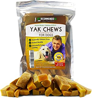 Vet Recommended Yak Chew for Large and Small Dogs - Made from Himalayan Yak Milk (20 Count & 5 Count) - Long Lasting Cheese Yak Chew Milk Bone - 100% Natural, No Preservatives, Gluten Free Dog Treat