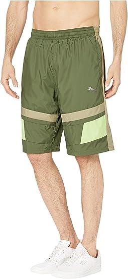 Retro Woven Shorts