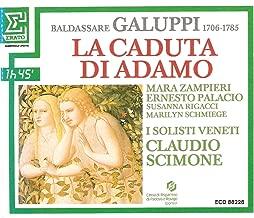 Baldassare Galuppi / La Caduta Di Adamo - Doppel-CD