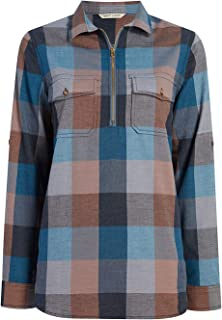 Woolrich Women's Any Point Convertible Flannel Shirt,