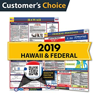 2019 Hawaii State & Federal Labor Law Posters for Workplace Compliance