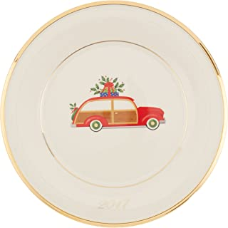 Lenox Holiday Accent Plate, Station Wagon