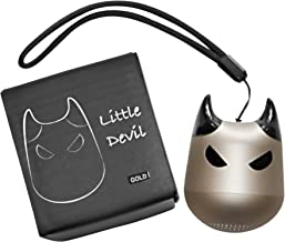 Mini Bluetooth Speaker - Little Devil - Portable, with Multi Function Button for Selfies (Gold)