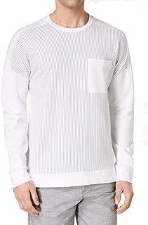Mens Stripe Basic T-Shirt