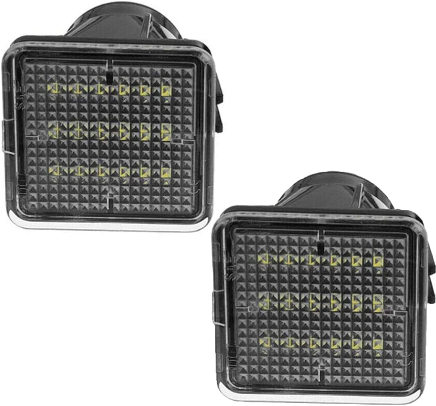 SZMWL 2pcs LED License Plate Light Assembly Toyota for Recommendation Lamp Taco Translated